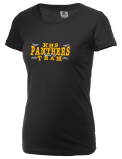 Keystone High School Panthers  Russell Women's Campus T-Shirt