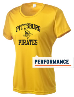 Pittsburg High School Pirates Women's Competitor Performance T-Shirt
