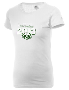 Evergreen High School Wolverines  Russell Women's Campus T-Shirt