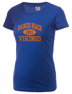 Rainier Beach High School Vikings  Russell Women's Campus T-Shirt