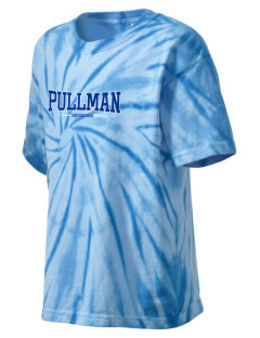 Pullman High School Greyhounds Kid's Tie-Dye T-Shirt