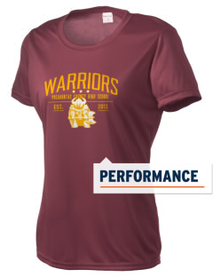 Pocahontas County High School Warriors Women's Competitor Performance T-Shirt