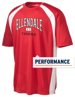Ellendale Elementary School Tigers Men's Dry Zone Colorblock T-Shirt