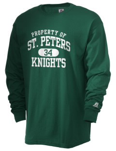 Saint Peters School Knights  Russell Men's Long Sleeve T-Shirt