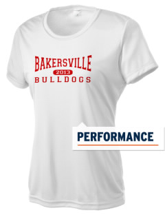 Bakersville Elementary School Bulldogs Women's Competitor Performance T-Shirt