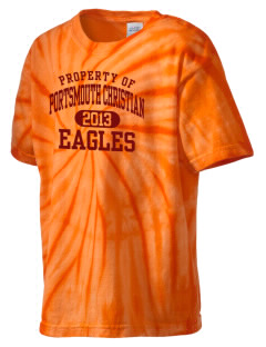 Portsmouth Christian Academy Eagles Kid's Tie-Dye T-Shirt