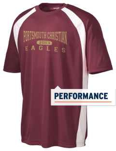 Portsmouth Christian Academy Eagles Men's Dry Zone Colorblock T-Shirt