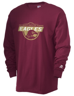 Portsmouth Christian Academy Eagles  Russell Men's Long Sleeve T-Shirt