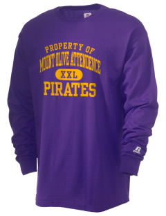 Mount Olive Attendence Center Pirates  Russell Men's Long Sleeve T-Shirt