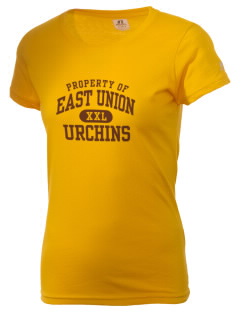 East Union Attendance Center Urchins  Russell Women's Campus T-Shirt
