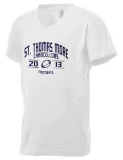St. Thomas More School Chancellors Kid's V-Neck Jersey T-Shirt