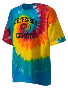 Jefferson Elementary School Comets Kid's Tie-Dye T-Shirt