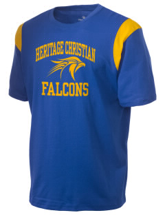 Heritage Christian School Falcons Holloway Men's Rush T-Shirt