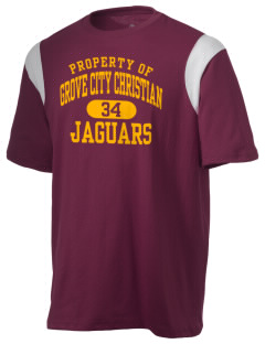 Grove City Christian School Jaguars Holloway Men's Rush T-Shirt