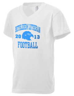 Bethlehem Lutheran School Eagles Kid's V-Neck Jersey T-Shirt