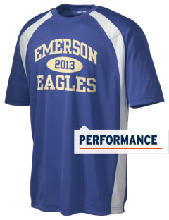 Emerson Elementary School Eagles Men's Dry Zone Colorblock T-Shirt