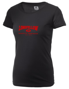 Longfellow Elementary School Panthers  Russell Women's Campus T-Shirt