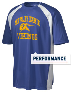 Mid Valley Learning Center Vikings Men's Dry Zone Colorblock T-Shirt