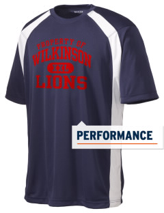 Wilkinson School Lions Men's Dry Zone Colorblock T-Shirt