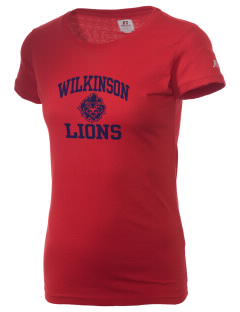 Wilkinson School Lions  Russell Women's Campus T-Shirt