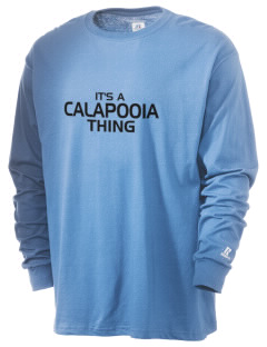 Calapooia Middle School Cougars  Russell Men's Long Sleeve T-Shirt