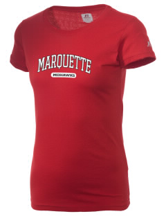 Marquette High School Mohawks  Russell Women's Campus T-Shirt