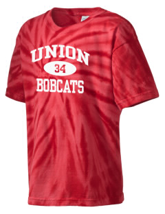 Union High School Bobcats Kid's Tie-Dye T-Shirt