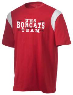 Union High School Bobcats Holloway Men's Rush T-Shirt