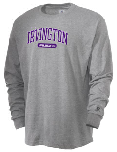 Irvington Elementary School Wildcats  Russell Men's Long Sleeve T-Shirt