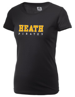 Heath Elementary School Pirates  Russell Women's Campus T-Shirt