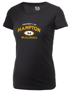 Hampton Elementary School Bulldogs  Russell Women's Campus T-Shirt