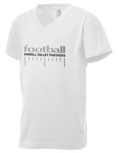 Howell Valley Elementary School Panthers Kid's V-Neck Jersey T-Shirt