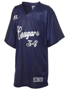 Spruce Elementary School Cougars Russell Kid's Replica Football Jersey