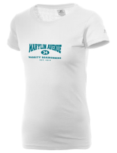 Marylin Avenue Elementary School Roadrunners  Russell Women's Campus T-Shirt