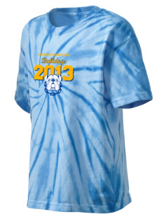 Bridgewater Grammar School Bulldogs Kid's Tie-Dye T-Shirt