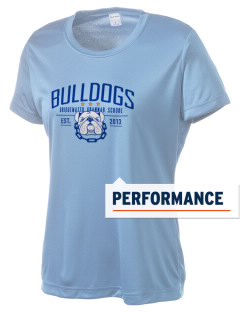 Bridgewater Grammar School Bulldogs Women's Competitor Performance T-Shirt