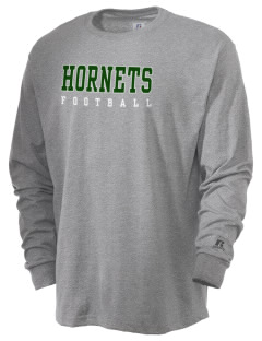 Hemphill High School Hornets  Russell Men's Long Sleeve T-Shirt