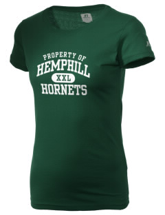 Hemphill High School Hornets  Russell Women's Campus T-Shirt