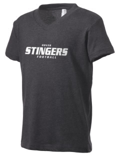 Dover School Stingers Kid's V-Neck Jersey T-Shirt
