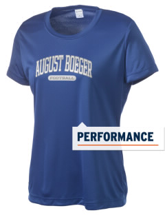 August Boeger Junior High School Bobcats Women's Competitor Performance T-Shirt
