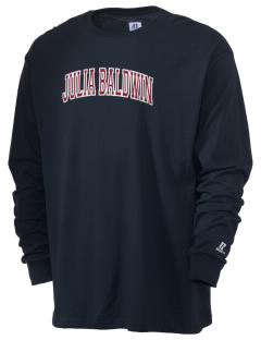 Julia Baldwin Elementary School Panthers  Russell Men's Long Sleeve T-Shirt