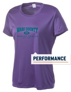 Ware County Magnet School Eagles Women's Competitor Performance T-Shirt
