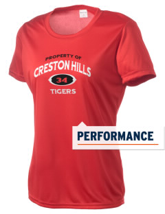Creston Hills Elementary School Tigers Women's Competitor Performance T-Shirt