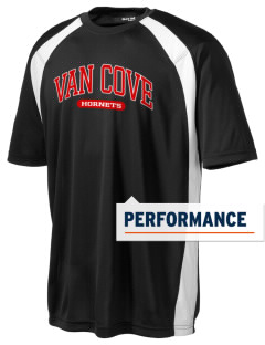 Van Cove Elementary School Hornets Men's Dry Zone Colorblock T-Shirt