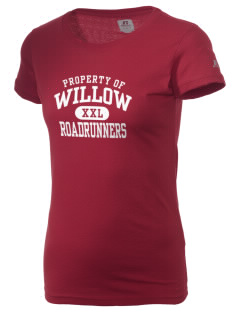 Willow Elementary School Roadrunners  Russell Women's Campus T-Shirt
