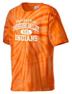 Missouri Valley Middle School Indians Kid's Tie-Dye T-Shirt
