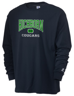 Hichborn Middle School Cougars  Russell Men's Long Sleeve T-Shirt