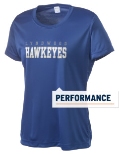 Lyndwood Elementary School Hawkeyes Women's Competitor Performance T-Shirt