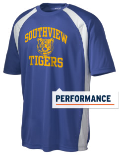 Southview Elementary School Tigers Men's Dry Zone Colorblock T-Shirt
