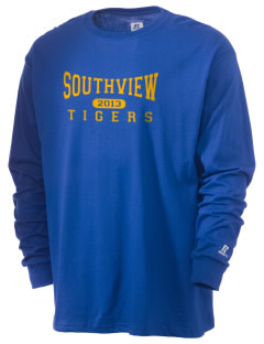 Southview Elementary School Tigers  Russell Men's Long Sleeve T-Shirt